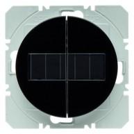 Hager KNX RF wandzender 2-voudig zonnecel R.1/R.3 zwart glanzend