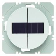 Hager KNX RF wandzender 2-voudig zonnecel R.1/R.3 polarwit glanzend