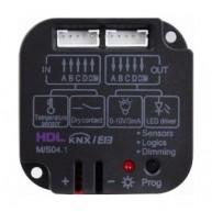 HDL M/S04.1 Binaire module 4 in/uitgangen potentiaal vrij KNX