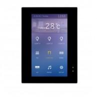 HDL-M/MPTLC43.1-A2.46 4.3 inch Enviro KNX touchdisplay - zwart glas