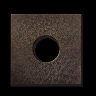 Basalte Auro wall cover - fer forgé bronze