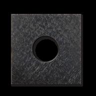 Basalte Auro wall cover - fer forgé gunmetal