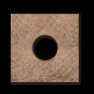 Basalte Auro wall cover - fer forgé rosé
