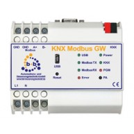 B+B Automation KNX Modbus Gateway