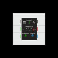 MDT Glazen KNX tastsensor II Smart met temperatuursensor wit