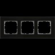 MDT Glazen afdekraam voor 55 mm range 3-voudig zwart