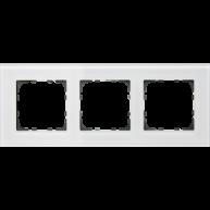 MDT Glazen afdekraam voor 55 mm range 3-voudig wit