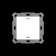 MDT KNX taster light 55 enkelvoudig - met temperatuursensor