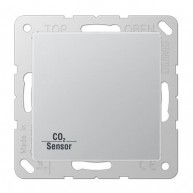 Jung KNX CO₂ Sensor AS500 aluminium