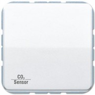 Jung KNX CO₂ Sensor CD500 alpine wit