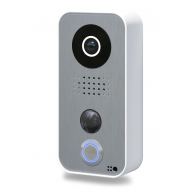 Doorbird Intercom opbouw wit met RVS front