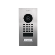 DoorBird IP Video Intercom D1101V geborsteld RVS inbouw