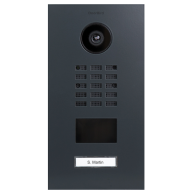 Doorbird Intercom inbouw antraciet - 1 beldrukker
