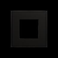 Ekinex frame t.b.v. schakelmateriaal Zwart