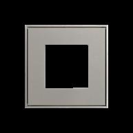 Ekinex frame t.b.v. schakelmateriaal Grijs