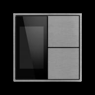 Ekinex KNX thermostaat met luchtvochtigheid Aluminium
