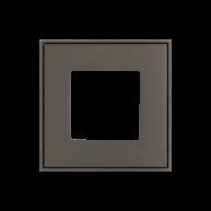 Ekinex frame t.b.v. schakelmateriaal Nikkel