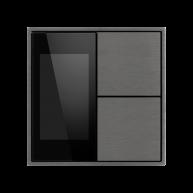 Ekinex KNX thermostaat met luchtvochtigheid Titanium