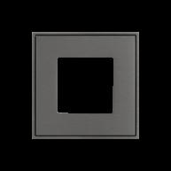 Ekinex frame t.b.v. schakelmateriaal Titanium