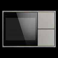 Ekinex KNX Touch & See display met 2 voudige taster Grijs