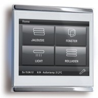 Elsner Corlo Touch KNX wit - chroom glanzend