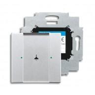 ABB Tastsensor future linear KNX sensor 1v m bau f-aluzilver 6125/01-83