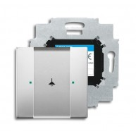 ABB Tastsensor pure stainless steel KNX sensor 1v m bau pure-rvs 6125/01-866