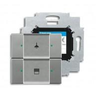 ABB Tastsensor solo KNX sensor 2v m bau s-grijs metallic 6126/01-803