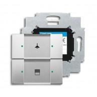 ABB Tastsensor pure stainless steel KNX sensor 2v m bau pure-rvs 6126/01-866