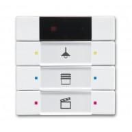 ABB Tastsensor future solo future linear carat axcent KNX IR interface + 3v s-studiowit 6129/01-84