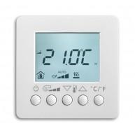 ABB Ruimtetemperatuurregelaar i-bus KNX fan-coil RTR display opb s-studiowit 6138/11-84