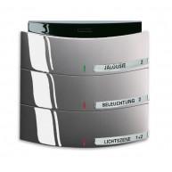 ABB Tastsensor alpha-nea KNX Triton MF/IR 3/6v a-platin 6320/30-20