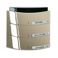 ABB Tastsensor alpha-exclusive KNX Triton MF/IR 3/6v a-palladium 6320/30-260