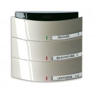 ABB Tastsensor impuls KNX Triton MF/IR 3/6v i-champagne 6320/30-79