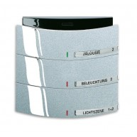 ABB Tastsensor future linear KNX Triton MF/IR 3/6v f-aluzilver 6320/30-83
