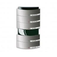 ABB Tastsensor alpha-nea KNX Triton MF/IR 5/10v a-platin 6320/50-20