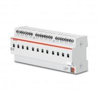 ABB Schakelactor i-bus KNX uitgang 12x16/20AX DIN-rail SA/S 12.16.5.1