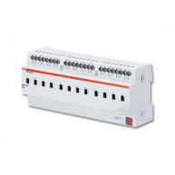ABB Schakelactor i-bus KNX uitgang 12 x 6A-AC3 handbed DIN-rail SA/S 12.6.2.1