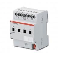 ABB Schakelactor i-bus KNX uitgang 4 x 10AX-AC1 DIN-rail SA/S 4.10.2.1