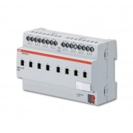 ABB Schakelactor i-bus KNX uitgang 8 x 6A-AC3 handbed DIN-rail SA/S 8.6.2.1