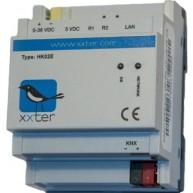 xxter dinrail met KNX protocol + directe busverbinding