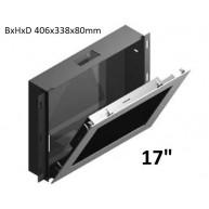 "Inbouwdoos RVS t.b.v. Touch PC 17"" WMK-03-PPC175-IRU"