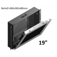 "Inbouwdoos RVS t.b.v. Touch PC 19"" WMK-03-PPC195-IRU"