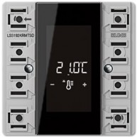 Jung KNX ruimtecontroller-module compact LS990  2-voudig