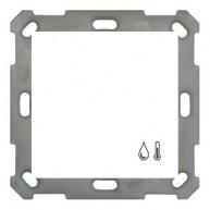 MDT Ruimtetemperatuur- / vochtigheidssensor 55mm zuiver wit glanzend