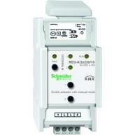 Schneider Electric KNX schakelactor 2 voudig 10A met handbediening