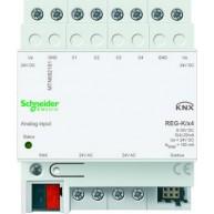 Schneider Electric KNX analoge ingang 4 voudig