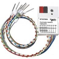 Schneider Electric KNX impulsdrukker interface, 4v plus