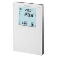 Siemens KNX Ruimtebediening temperatuur met LCD QMX3.P34 - wit
