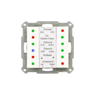 MDT LED Indicator 55mm wit glanzend